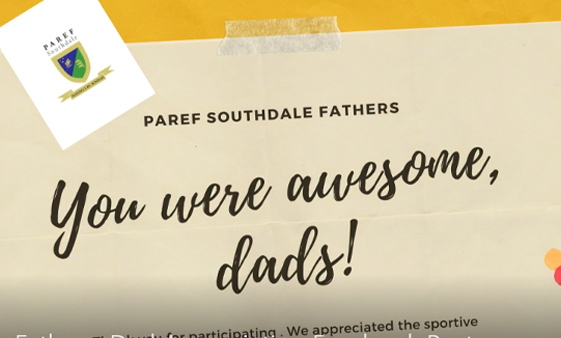 Paref Southdale Yellow Paper Father/Dad Appreciation Facebook Post